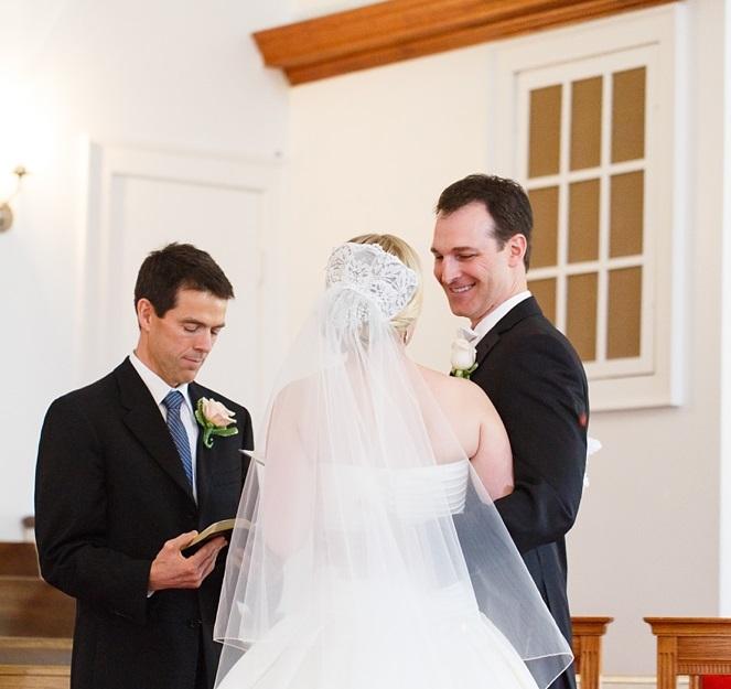Yorktown Beach Wedding Ceremony: Yorktown Baptist Church